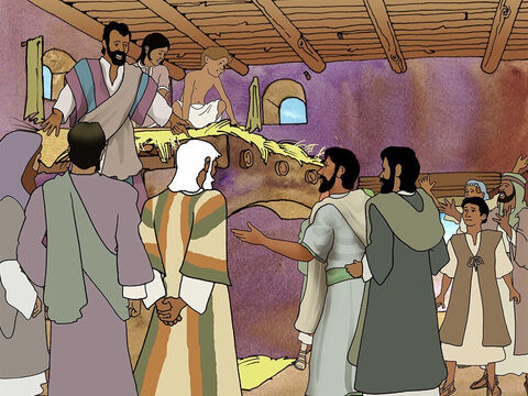 But Saul continued to speak boldly of the Lord Jesus to everyone. Saul was so bold, that the disciples had to move him away from Jerusalem for fear that some Jews would kill him. (Acts 9:26-29). – Slide 5