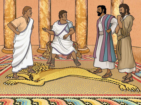 Unfortunately they also met a magician and Jewish false prophet called Bar-Jesus (Elymas in Greek). Now, it would not be easy for Paul to share the good news about Jesus Christ. – Slide 14