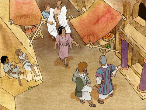 As Paul and Silas walked in Philippi, a fortune-telling slave girl followed them. The girl irritated them by yelling over and over again, 'These men are bond servants of the Most High God who are proclaiming to you the way of salvation.' – Slide 7