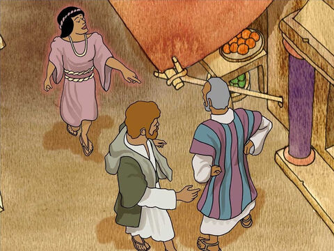 After many days of being annoyed, Paul turned to the fortune-teller and said, 'I command you in the name of Jesus Christ to come out of her!' The evil spirit left the slave girl. From then on she could not tell anyone's fortune. – Slide 8