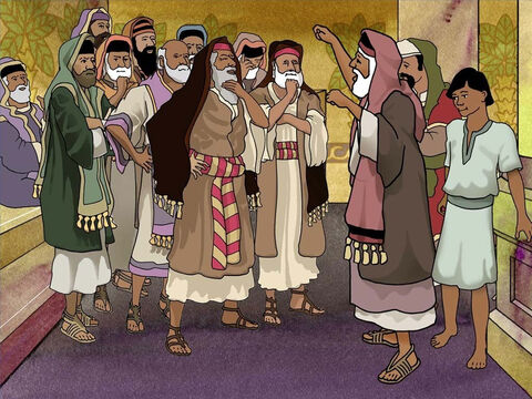 The next day 40 Jews gathered. Together they took an oath that they would neither eat nor drink until they had killed Paul. Unknown to them a young man heard about the evil plan. This young man was Paul's nephew. Acts 23:12-15 – Slide 8