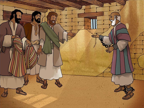 In Caesarea Paul was held as a prisoner until he could face trial. There were many days that Paul spent in prison and his friends came to visit him. One trial after another did not seem to resolve Paul's case. Acts 23-25:22 – Slide 11