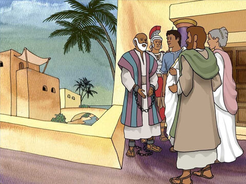 The people of Malta were impressed with the power of Paul's God to heal. Paul was invited to meet with the chief man of the island called Publius. Publius invited Paul and Luke to stay in his home for three days. – Slide 10