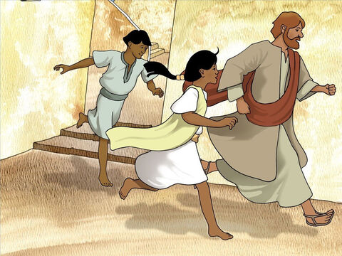 Peter hurried off to find Jesus. Peter did not want to say Jesus wouldn't pay the two-drachma (half a shekel) because the Bible clearly instructs all Jewish males 20 years and older to pay it (Exodus 30:13-16). – Slide 4