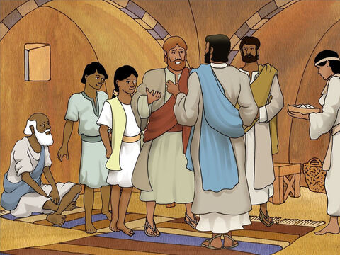 When he found Jesus, and before Peter could say anything, Jesus said, 'What do you think, Simon? From whom do the kings of the earth collect customs or poll-tax, from their sons or from strangers?' – Slide 5