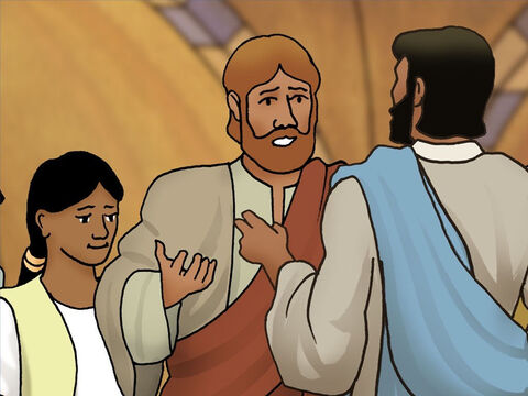When Peter replied 'From strangers.' Jesus said to him, 'Then the sons are exempt.' Jesus is the Son of God and He is King of kings. Obviously He should not have to pay the Temple tax. – Slide 6