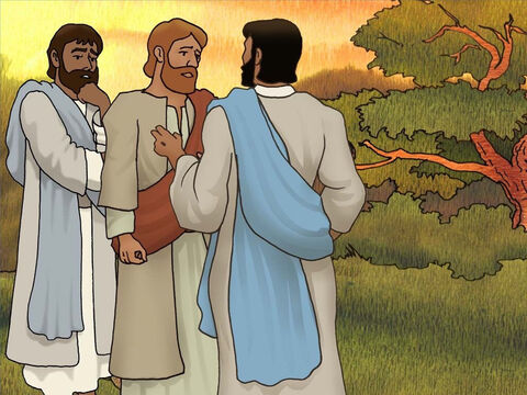 After they had finished breakfast Jesus spoke to Peter. Three times Jesus asked if Peter loved Him. Jesus asked these questions because He knew the important part Peter would have in His church and how Peter would die for his faith. (John 21:15-18) – Slide 15