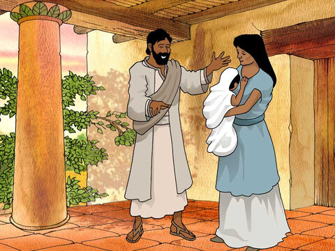 "'And Elkanah had relations with Hannah his wife, and the Lord remembered her. It came about in due time, after Hannah had conceived, that she gave birth to a son; and she named him Samuel, saying, ""Because I have asked him of the Lord.""' 1 Samuel 1:19b-20 (NASB) – Slide 4"