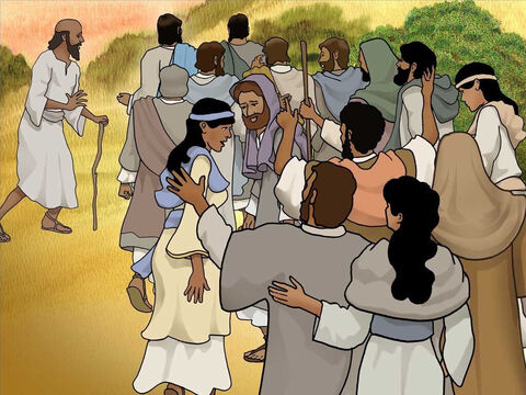 Jesus had performed many miracles and crowds were following Him. Word about Him had spread widely and many approached Him for healing. Jesus was on His way to the village of Nain. – Slide 4
