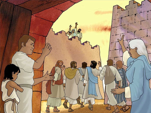 The news of Jesus raising the dead quickly spread throughout all of Judea and the surrounding district. Jesus went on to perform many more miracles. As a result more and more people went to see Him. – Slide 9