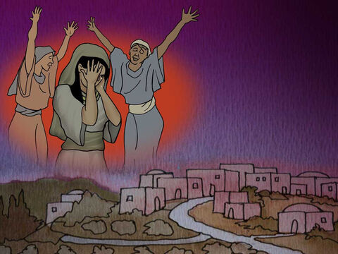Then what had been spoken through Jeremiah the prophet was fulfilled: 'A voice was heard in Ramah, Weeping and great mourning, Rachel weeping for her children; And she refused to be comforted, Because they were no more.' Matthew 2:17-18 NASB) – Slide 11