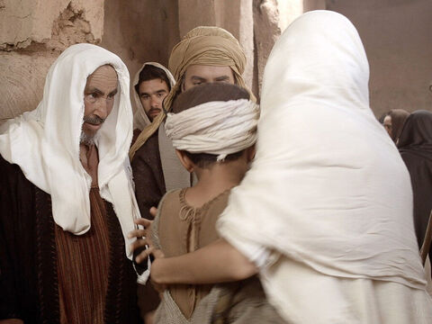Mary and Joseph did not understand what He was saying to them. – Slide 14