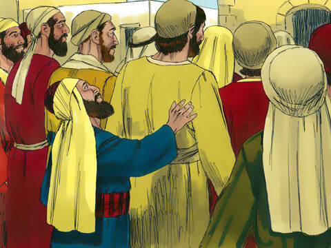 He wanted desperately to see Jesus, but the crowd was in his way. Being a short man he couldn't see over the taller people in his way. – Slide 3