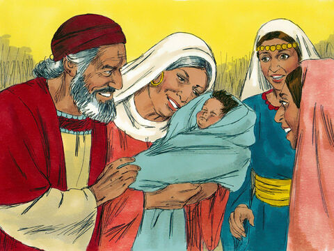 Soon afterward, Elizabeth, became pregnant. 'How kind the Lord is!' she exclaimed. – Slide 7