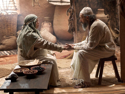 'How kind the Lord is,' she exclaimed, 'to give me a child!' – Slide 15